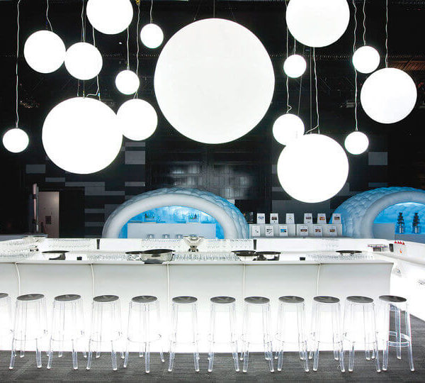 bar luminos modular