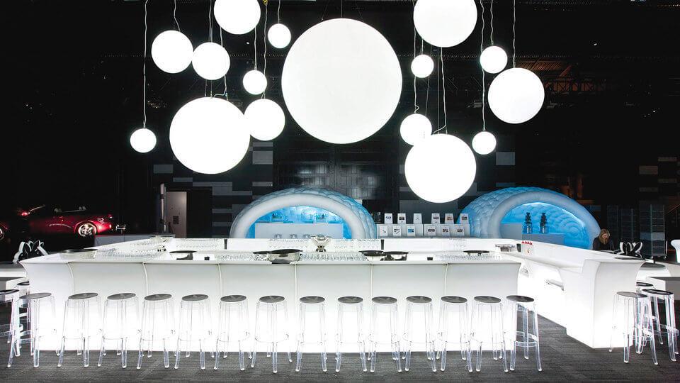 bar luminos modular