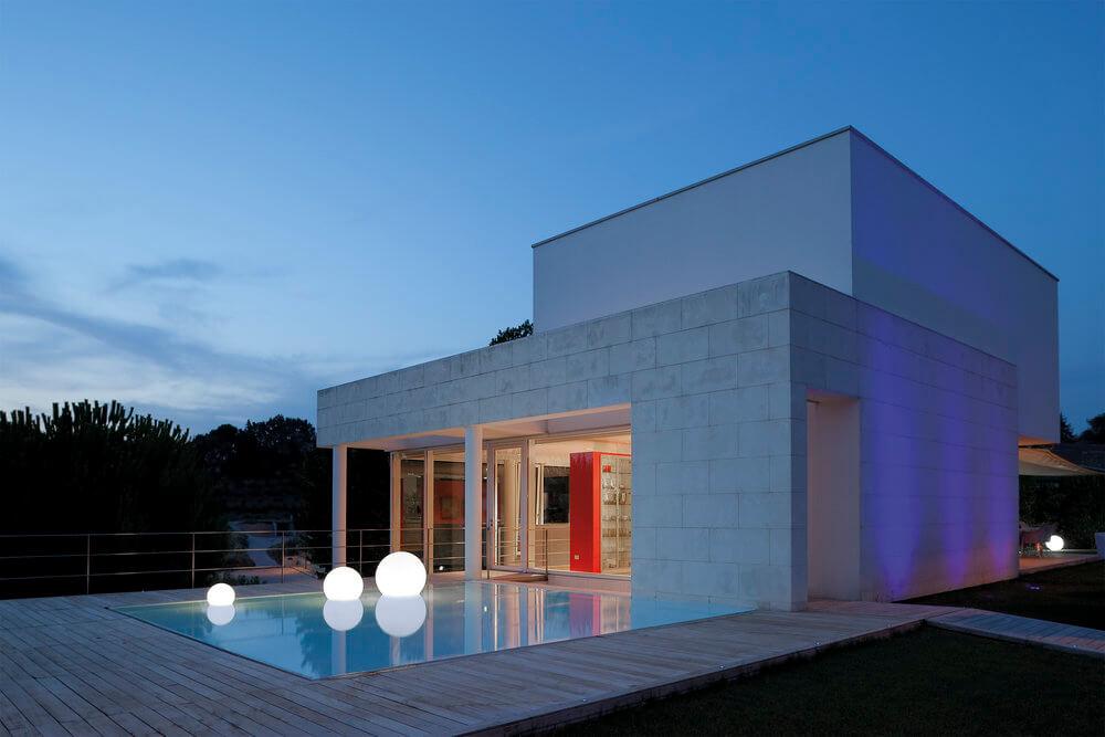 globuri luminoase piscine