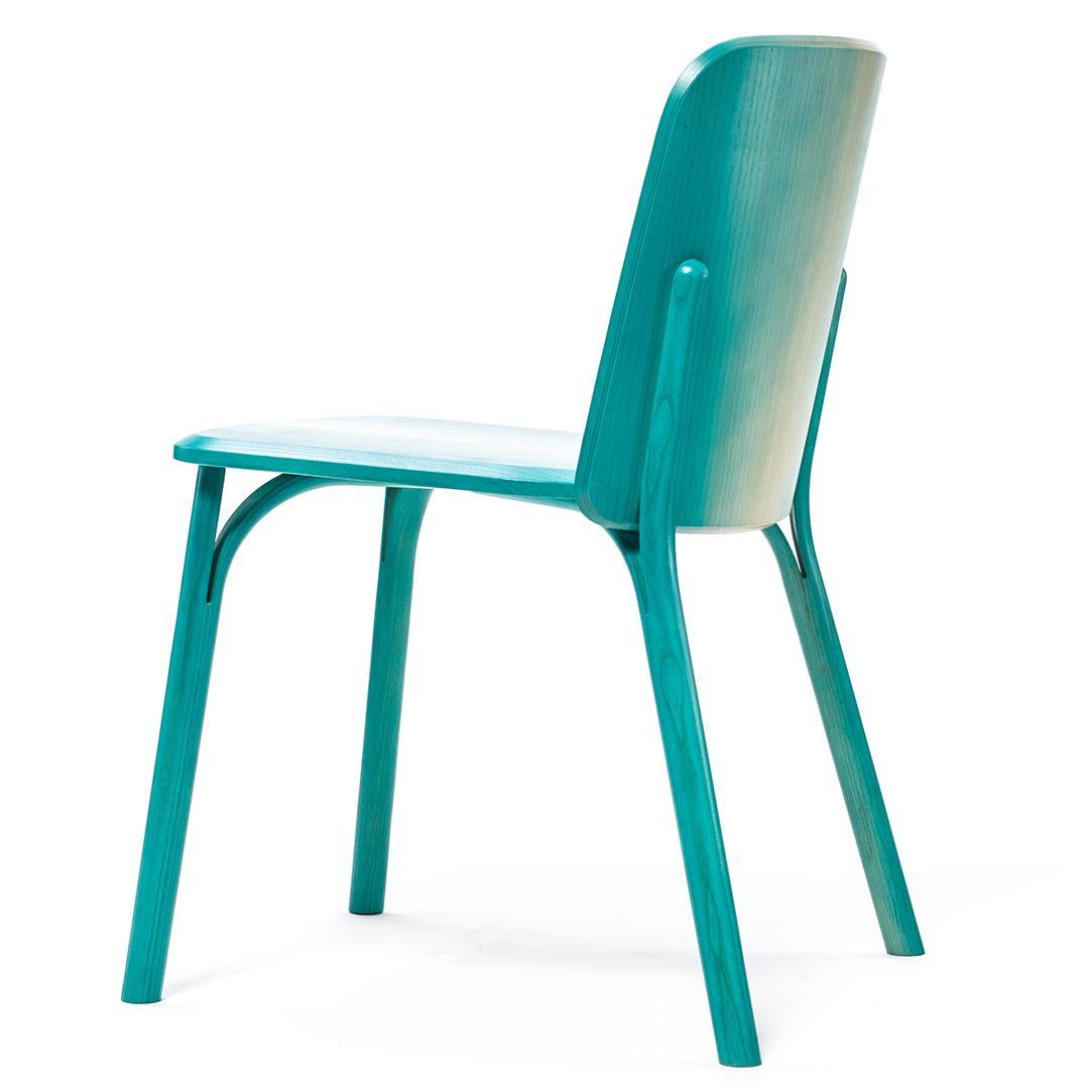 scaun lemn natural