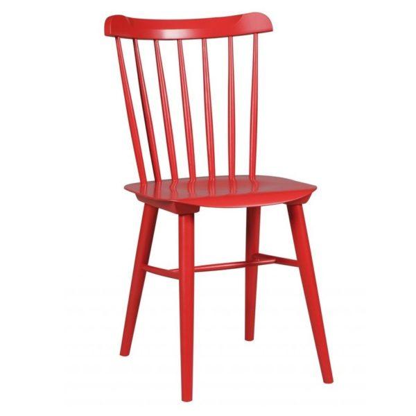 scaun rosu de bucatarie