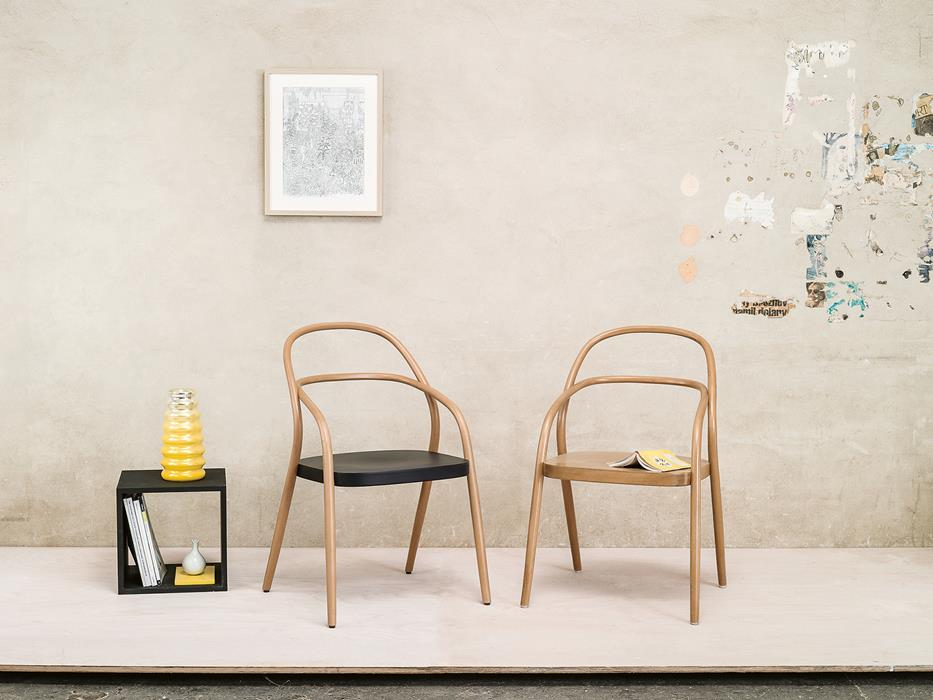 scaune minimaliste lemn