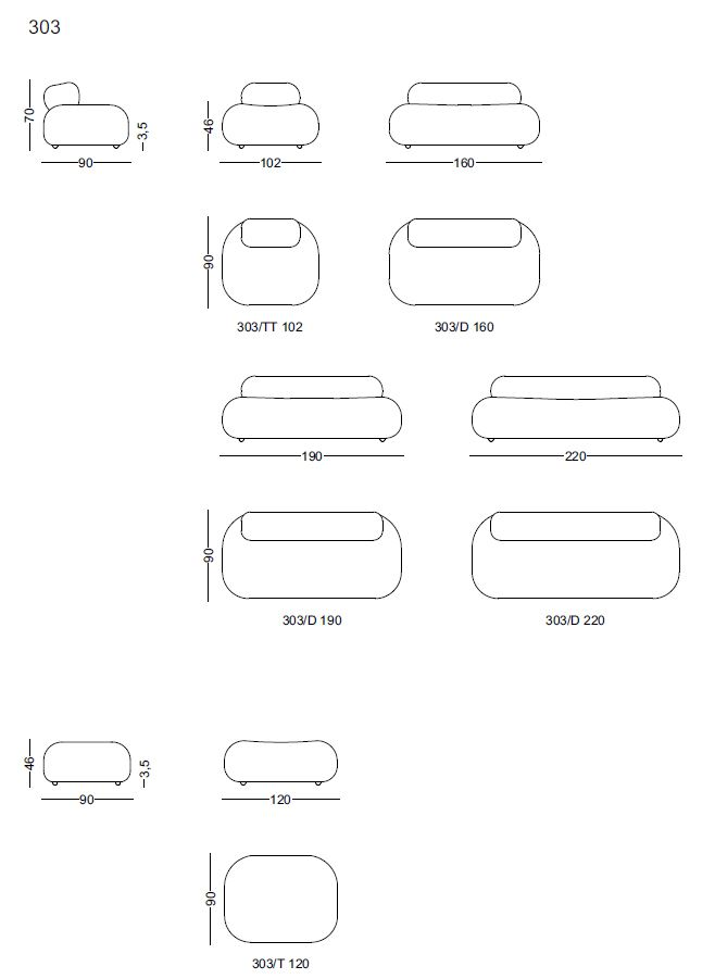 dimensiuni canapele