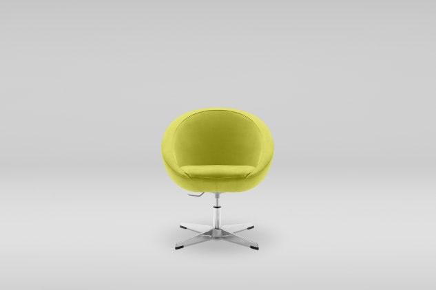 scaun pivotant verde