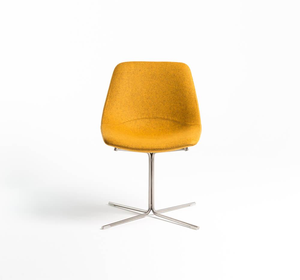 scaun baza inox