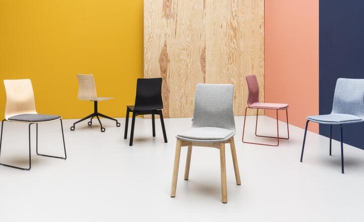 scaune placaj si lemn