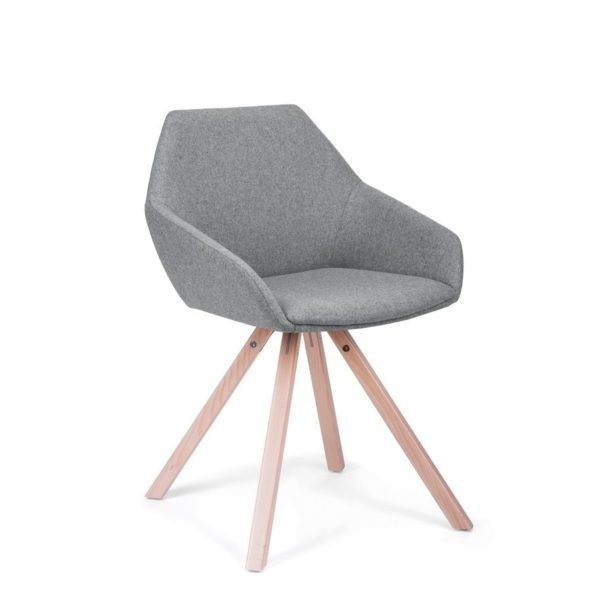 scaun ergonomic lemn