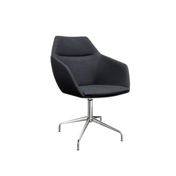 scaun ergonomic picioare inox